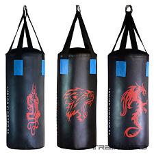 Boxset Boxsack Set Kinder gefüllt 10kg m. Tasche Halterung Boxhandschuhe Bandage