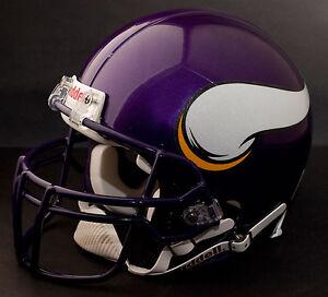 RANDY MOSS Edition MINNESOTA VIKINGS Riddell REPLICA Football Helmet