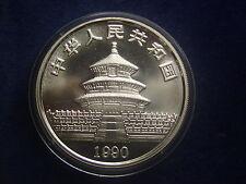 10 Yuan 1990 Panda China aus Silber  W/17/483