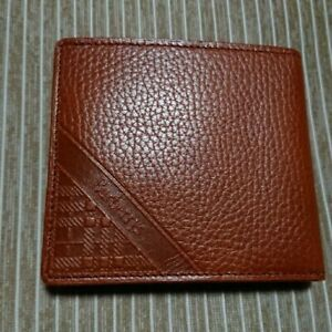 BURBERRY bi-fold wallet brown men D6041