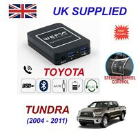 Music Streaming Bluetooth Telephone Toyota Tundra Charger 2xUSB AUX SD Module 6