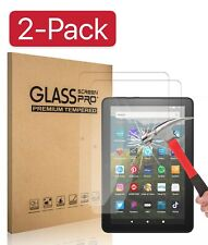 2 Pack Tempered Glass Screen Protector for Amazon Fire HD 10 Tablet (10.1 inch)