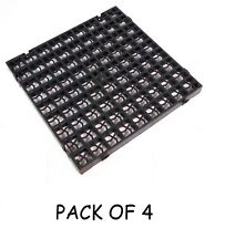 PACK OF 4 GRASS GRIDS DRIVEWAY DRAINAGE GRAVEL TURF SOIL PAVING LAWN SHED BASE