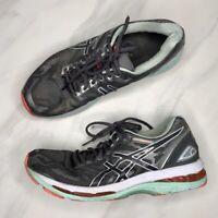 ASICS Gel-Nimbus 19 Running Shoe Gray Sneakers Tennis Shoes Women's Size 9.5