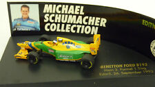 """Pauls Modell Art 1:87 Benetton Ford B193 #5 """"M. Schumacher"""" in OVP (A1929)"""