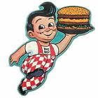 Big Boy Embossed Die Cut Tin Sign Vintage style Embossed Sign Fifties Decor