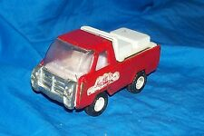 Old Small Buddy L. Corp Coca-Cola Truck Toy Pressed Metal Vintage Japan Japanese