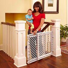 Baby Safety Gate Walk Thru Easy Safe Toddler Pet Child Stairway Infant Dog Fence