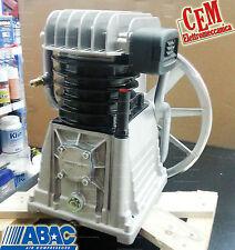 Gruppo pompante ABAC B4900 Per compressore 4 hp gruppo B 4900 originale bistadio