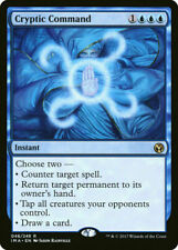Magic The Gathering: CRYPTIC COMMAND , Iconic Masters Rare-NM