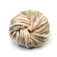 Chunky Wool Ball Yarn Super Soft Bulky Arm Knitting Wool Roving Crocheting DIY