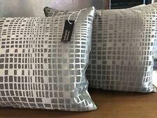 Pkt 2 Designer Zinc Lens Silk Lens Cushions