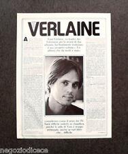 CF85 - Clipping-Ritaglio -1979- NOTIZIE MUSICA , TOM VERLAINE
