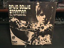 David Bowie Picture Sleeve - Starman / Suffragette City - RCA 74-0719 1972