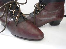 Schnürstiefel Stiefelette Damen Boots DORNDORF TRUE VINTAGE  ankle boot geprägt