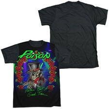 POISON GOOD TIME Licensed Sublimated Adult Men's Graphic Band T-Shirt SM-3XL