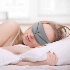 3D Sleep Mask Soft Memory Foam Contoured Eye Mask Cover For Men & Women Travel