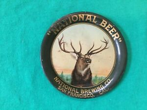 VINTAGE NATIONAL BEER BREWING CO. TIN TIP TRAY