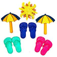 Jesse James Buttons ~ Dress It Up - Soakin' Up The Sun 9371 Sewing Beach Craft