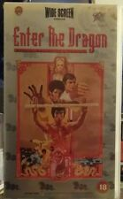 ENTER THE DRAGON VHS Video NEW & Factory Sealed Widescreen version W/S Bruce Lee