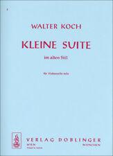 Kleine Suite im alten Stil Koch, Walter violonchelo 9790012135159