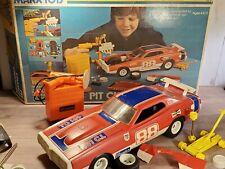 Marx Toys Pit Change Dodge Charger 1:12 Scale 1974 Plastic Model Kit Car 5175