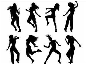 dancing dance hobby Background Edible Cake Topper Wafer or Icing