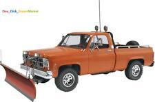 GMC Pickup Snow Plow Scale 1/25 Model Car Truck Kit Plastic Hobby New