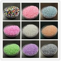 500/1000/3000x 2MM 3MM 4MM New Glass Bugle Seed Beads Finding Fit DIY Wholesales