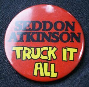 Motoring Truck Pin Badge SEDDON ATKINSON TRUCK IT ALL Large 55 mm