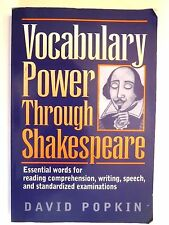 Vocabulary Power Through Shakespeare: Essential Words for Reading Paperback