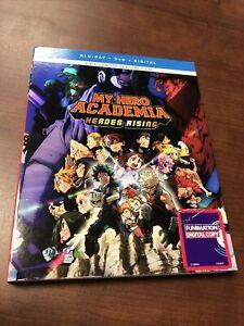 My Hero Academia: Heroes Rising (Blu-ray + DVD, 2020, 2-Disc Set) No Digital
