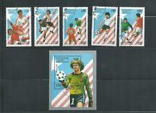 Cambodia Scott # 1364-1369 Used/CTO 1994 World Cup Soccer