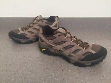 New listing Merrell Moab Ventilator 2 Low Hiking Trail Shoes mens sz 12 Vibram WALNUT EU46