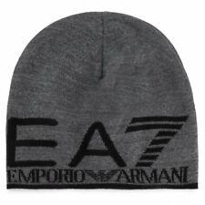 Cappello beanie cuffia EA7 Emporio Armani uomo cappelli accessori 275893 grigio