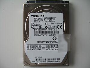 "Toshiba MK5065GSXF 500GB SATA 2.5"" 9.5MM 5400RPM HDD"