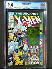 Uncanny X-men #304 CGC 9.4 Fatal Attractions Magneto Hologram  Newsstand 1993