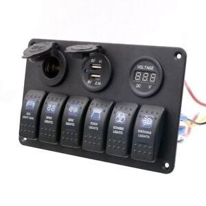 Rocker switch 529B 12V OFF ROAD LIGHTS Carling ARB NARVA type led blue