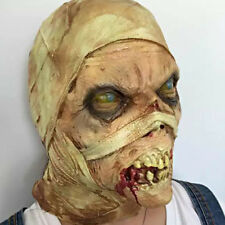 HALLOWEEN HORROR MOVIE PROP Zombie Mask - EVIL MUMMY MASK