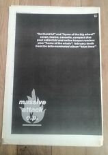 MASSIVE ATTACK 'EP' 1992 UK Poster size Press ADVERT 16x12 inches