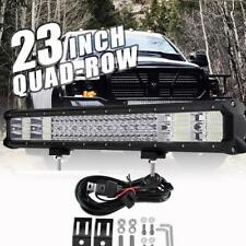 QUAD-ROW 23INCH 2256W  LED Work Light Bar Spot Flood Offroad Truck 22/24inch
