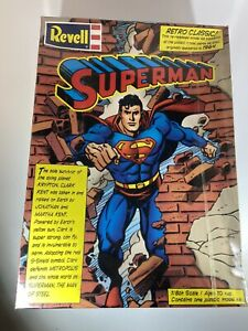 Original Sealed Revell Superman Model Kit 1/8 Scale