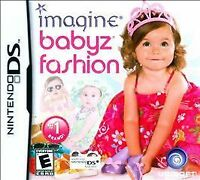 Brand New Factory Sealed Imagine Babyz Fashion - Nintendo DS Free Shipping