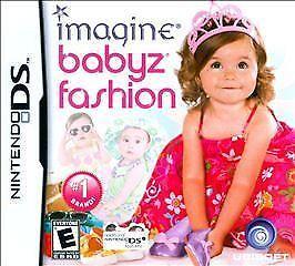 Imagine: Babyz Fashion Nintendo DS #1 GIRLS GAME COMPLETE DESIGNER RUNWAY FUN!!