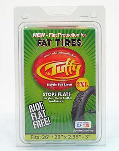 """Mr Tuffy 2XL Fat Tire Liner 26x2.35-3.0 29x2.35""""-3.0"""" Green 26"""" 29"""""""