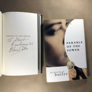 Parable of the Sower by Octavia E. Butler (Signed, First Edition, Hardcover)