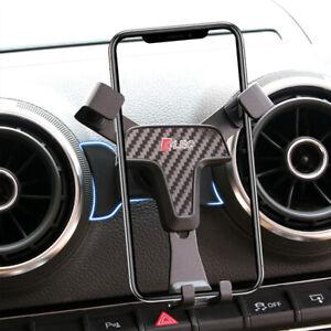 For Audi A3 8V 2014 - 2018 Car Air Vent Mount Mobile Phone Holder Cradle Stand