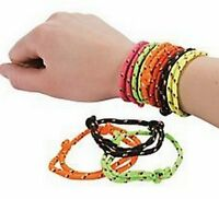 Pack of 24 - Retro Friendship Bracelets - Party Bag Fillers