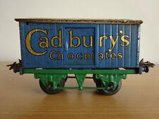 Hornby Series O Gauge Cadburys Chocolates Wagon Tinplate Vintage 1930's Meccano