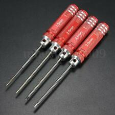 4Pcs Long Hex Screw Driver Tool Kit Socket Set For RC Helicopter Model Car Plane